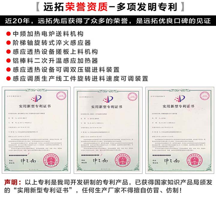 远拓荣誉专利