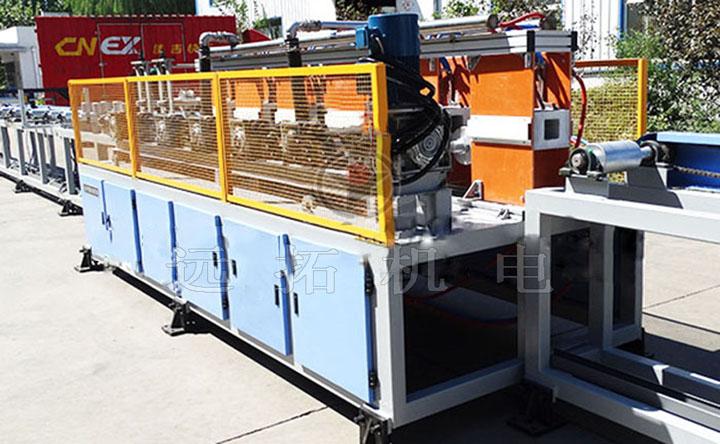 2套方管淬火处理设备交付山东